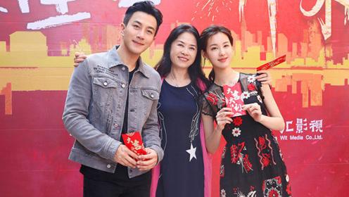 刘恺威新剧搭档超美小花 竟有些莫名的夫妻相?