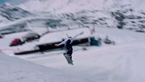 特别纪录!奥地利女运动员出色完成单板滑雪转体1260度