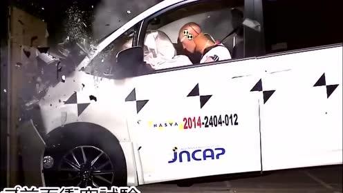丰田埃尔法碰撞测试