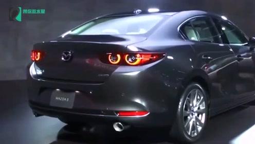 2019款马自达3 AWD,看到这外观颜值买不买自己拿主意