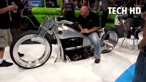 世界上最帅的摩托车,太炫酷了