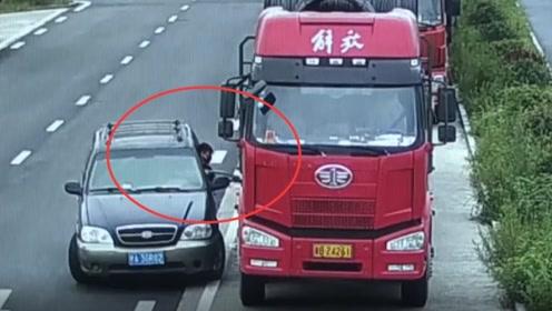 偷油贼到底有多可恶?货车司机都快要被逼疯了,看得真让人心疼