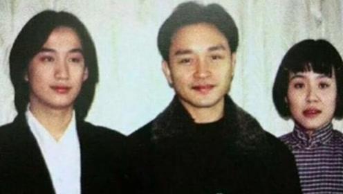 黄磊张国荣24年前合照曝光,多多爸当年颜值不输哥哥