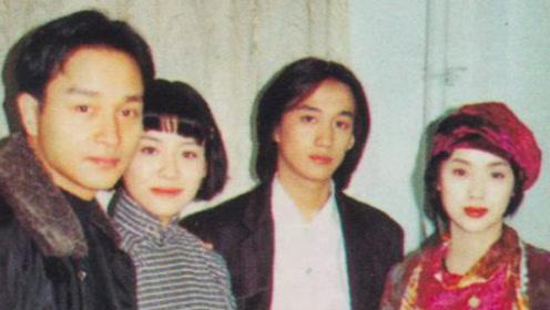 黄磊张国荣24年前旧照曝光 形象差距太大惊呆网友