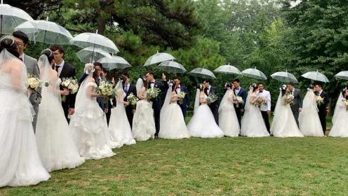 来自母校的祝福!北理工办毕业集体婚礼,学生:很珍贵的回忆