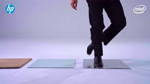 在惠普电脑上跳踢踏舞!