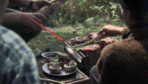 野外烧烤神器,可随身携带,用完后直接烧毁,就是这点很尴尬!