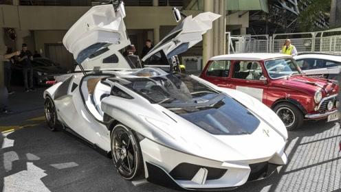 钱太多只能造车,意大利纯电超跑亮相,车名看两遍没记住!
