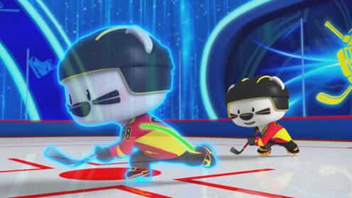 番外篇《冰球英雄》第2集 滑行训练