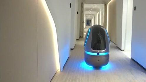 无人酒店正式开业,全程都是机器人服务,名字才是一大亮点