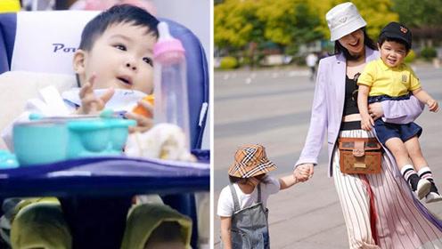 黄圣依携子参加综艺 却被网友发现小儿子安麟的一个小毛病