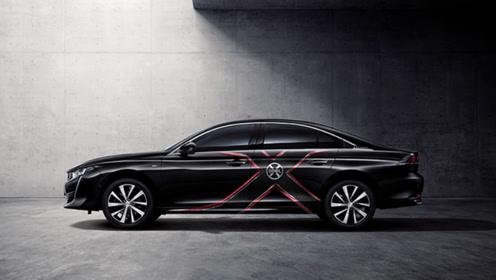 东风标致508L发布,车身X战警专属涂装,这么帅弱就弱点吧!