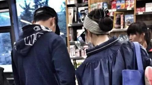 范冰冰逛商店被偶遇,包裹严实超低调,未婚夫李晨贴心陪伴在旁