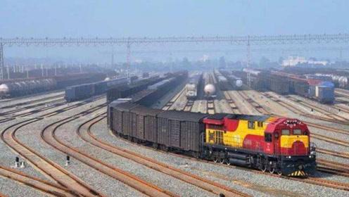 亚洲最大铁路枢纽,100多条铁路线交织,看着都晕