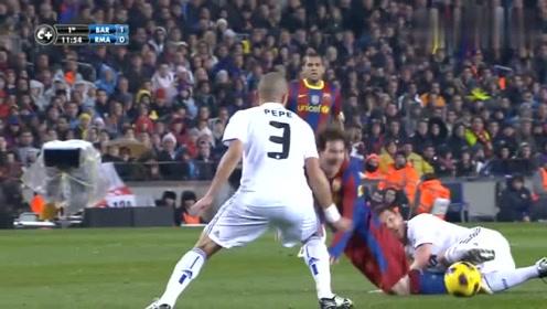 经典回顾:梅西在足球比赛精彩表现,超赞
