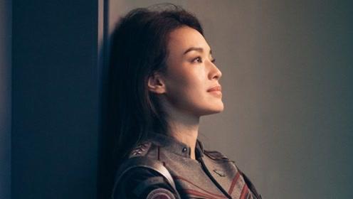 舒淇换新发型拍杂志,齐刘海搭配烈焰红唇,复古造型撞脸吴莫愁