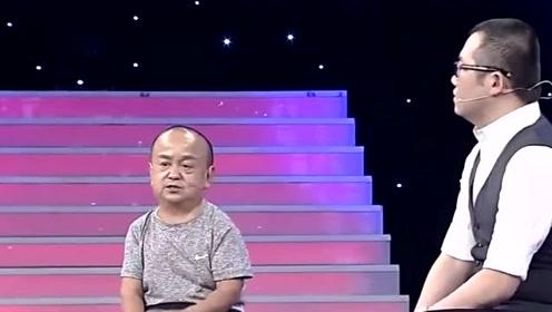 身高1米1被称最矮男演员,娶小18岁娇妻,53岁怕儿子长不高