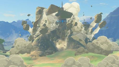 海贼王传说11:放入希卡之石山顶炸开,我路飞竟然沉睡了一百年