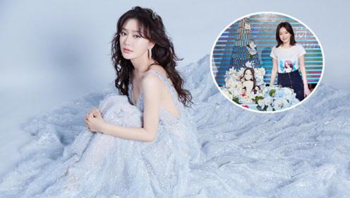秦岚生日会画冰雪妆化身温柔白月光 现场献唱作画秒变全能