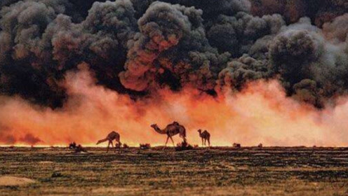 来自科威特的63摄氏度,汽车都被融化了,是人为还是自然灾害?
