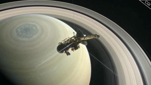 美国卡西尼探测器在土星周围收到奇怪无线电波,科学家找到了来源
