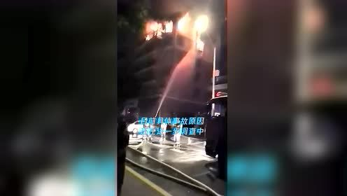 浙江一小区发生惨烈火灾 大人跳楼身亡两小孩不幸遇难