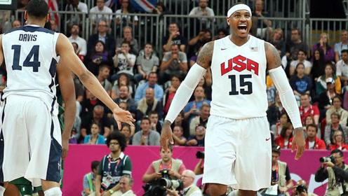 14分钟砍下37分!奥运会上的安东尼太无敌了