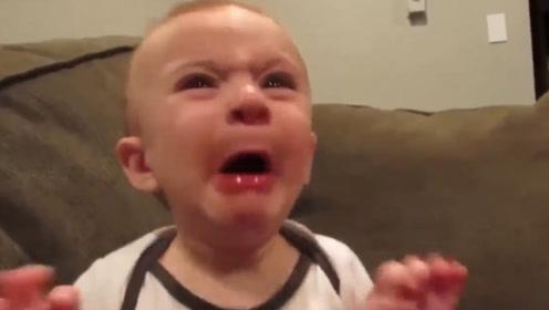 坑娃!萌娃第一次吃柠檬的反应,看完憋住不要笑!