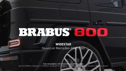 巴博斯800 WIDESTAR,改造梅赛德斯-AMG G63