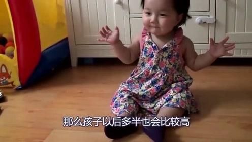 宝宝将来会不会是高个子?有这3个特征,几率就更大一些