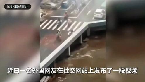 汽车从桥上诡异消失?真相让人哭笑不得