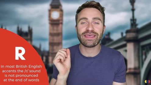 英语中r的发音-学习完美英文发音