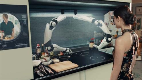 英国发明全自动厨房,只用动动手指头,2000多套菜谱随便选