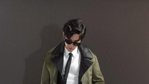 肖战特工造型,异形眼镜秀出型男魅力新高度