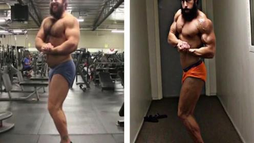 200斤国外一男子五个月成功减肥80斤,太疯狂了,如何做到呢