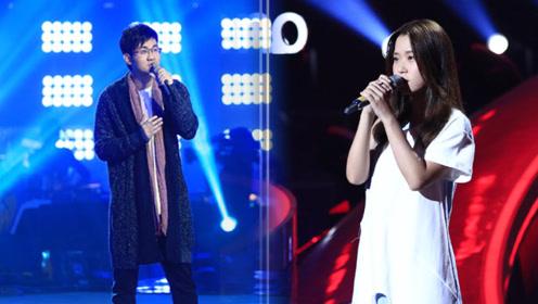 骆蕾李良辰同唱《有一块青苔很明显》,歌声细腻浪漫