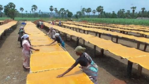 中国畅销15年的小零食,竟是印度造的,看完加工过程不敢吃了
