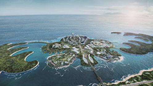海花岛最新航拍来了!号称中国最大人工岛,花费1600亿将完工