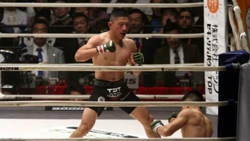 日本一哥惨遭KO!13连胜被终结