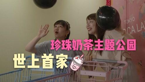 日本万物皆奶茶!首家珍奶主题公园开业 粉丝喊杰伦快打卡