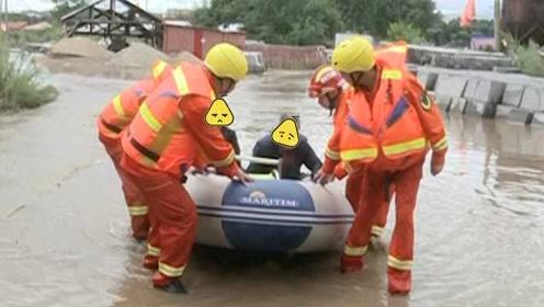 家被洪水围困,村民擅自回家喂猪遇险,救出后被拘留3日