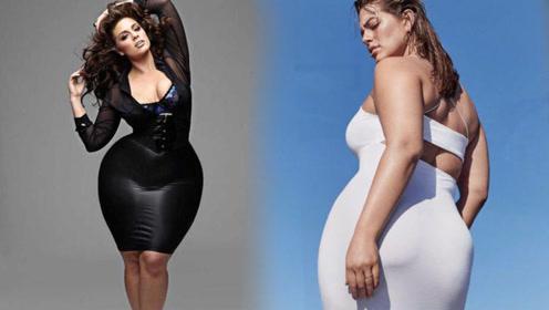 体重超过200斤却仍追求者无数,网友看后坦言:肉长在对的地方