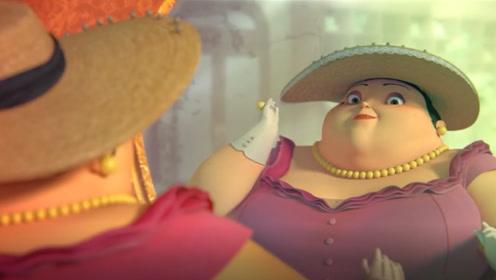 帽子店迎来一胖女人,店主只顾讨好主人,却得罪了不起眼的小狗