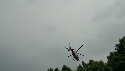 华西医院航空医疗救援分队起飞 将接回两名卧龙耿达重伤员
