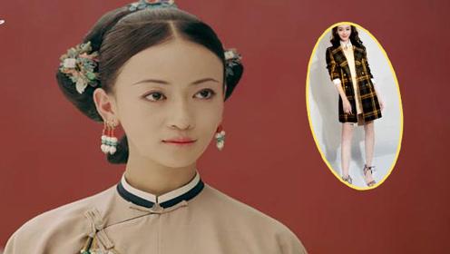 吴谨言29岁穿衬衫美成少女,可加外套气场立马不同了