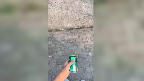 这罐饮料是怎么生产出来的?里面只有空气
