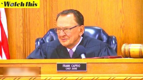 三个孩子的奶奶误闯红灯 法官的判决让她泪洒法庭