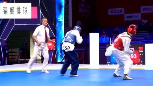 跆拳道团体世界杯,中国男队摘得铜牌!