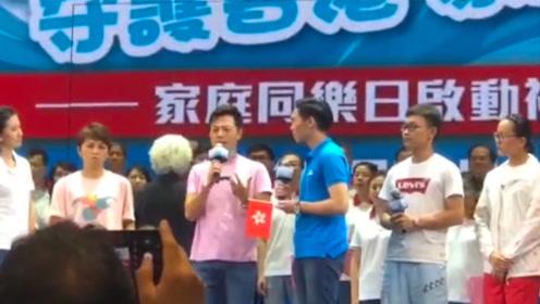 香港市民霸气喊话暴徒:香港是我们中国人的香港,不喜欢请离开