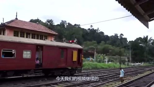 登上火车的车厢,一场远方的旅行